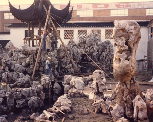 Dr. Sun Yat-Sen Classical Chinese Garden construction